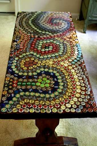 old bottle caps