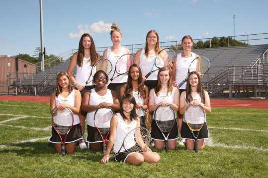 Girls-playing-Tennis