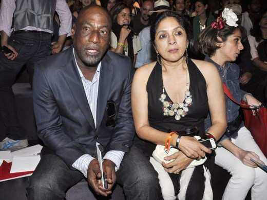 Neena- Gupta-And -Vivian -Richards