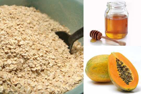 Oatmeal-Honey-And-Papaya