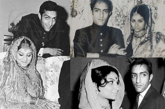 Sharmila -Tagore- And- Mansoor- Ali -Khan -Patuadi