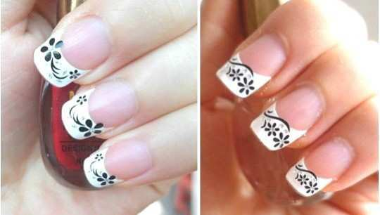 black-and-white-elegant-nail-art