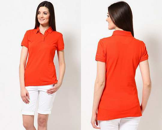 calvin-klein-orange-collared-tshirt-jabong