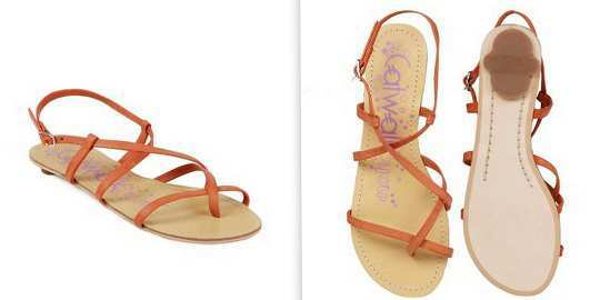 catwalk-women-orange-sandals-myntra