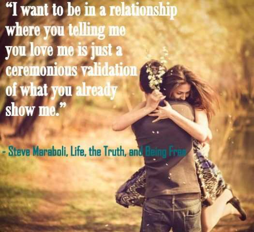 i want to be in a relationship