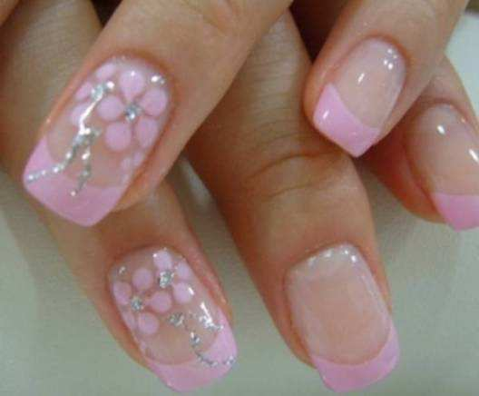 party-french-nails