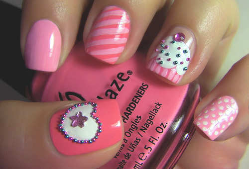 pink-icecream-nails