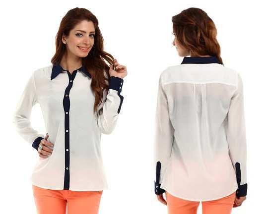 white-and-navy-shirt-UCB-Myntra