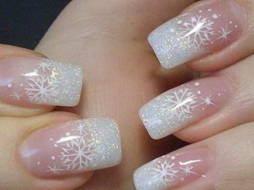 winter-french-nails