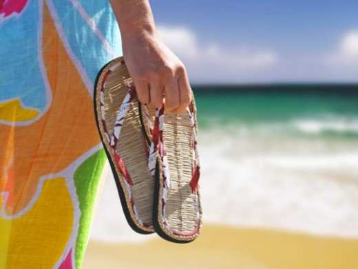 woman-with-flip-flops