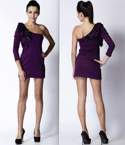Trendy-Diva-Purple-Women-Dresses