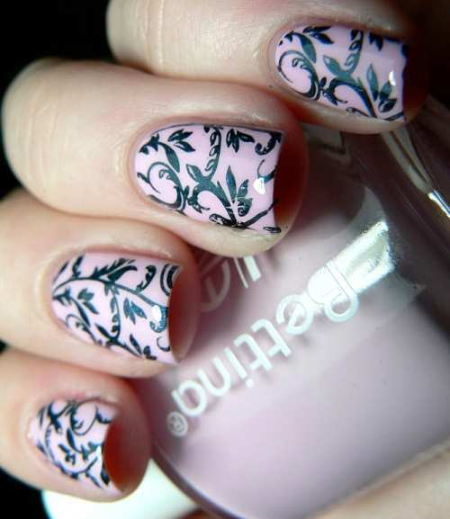 baby-pink-lace-nails