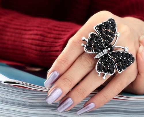 black-vintage-butterfly-ring