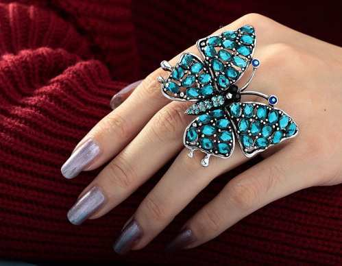 blue-butterfly-cocktail-ring