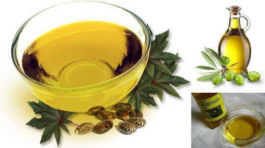 castor-olive-mustard-oil-for-split-ends