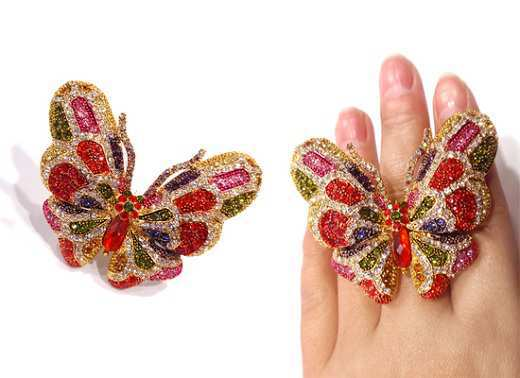 colorful-butterfly-ring