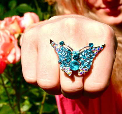 cute-blue-butterfly-ring
