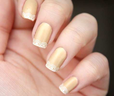 gold-base-french-lace-nails