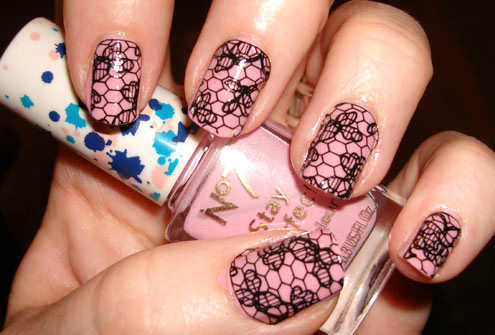 light-pink-lace-nails