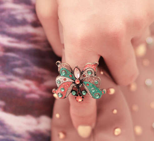 multi-color-graceful-butterfly-ring