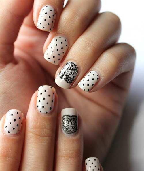 polka-and-lace-nail-art