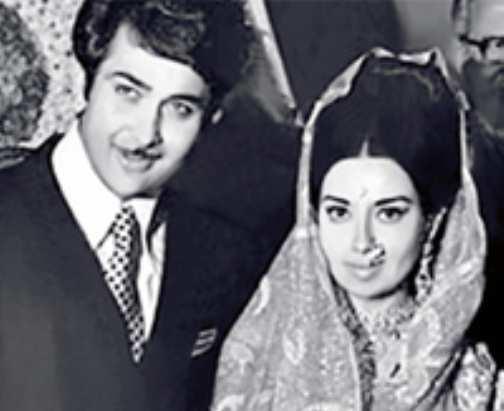 Babita-and-Randhir-Kapoor-wedding