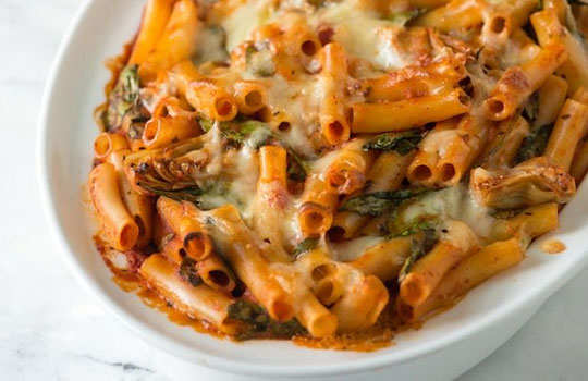 Mexican-Cheesy-Baked-Ziti--for--Kids