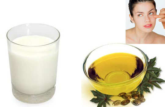 dark-circles-home-remedies-castor-oil-milk-7