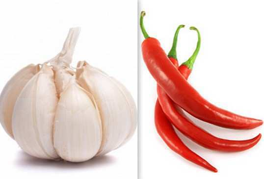 garlic-and-Cayenne-Pepper