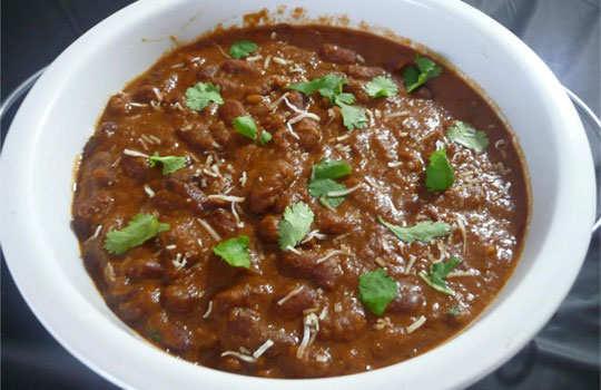 mushroom-rajma-curry