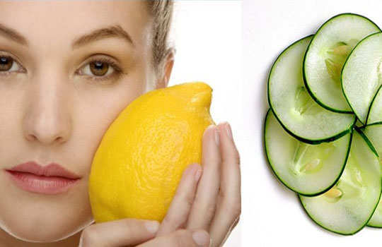 skin-blemishes-home-remedies-cucumber-lemon