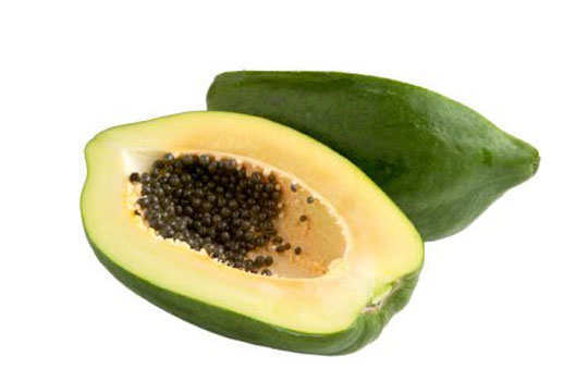 skin-blemishes-home-remedies-green-papaya