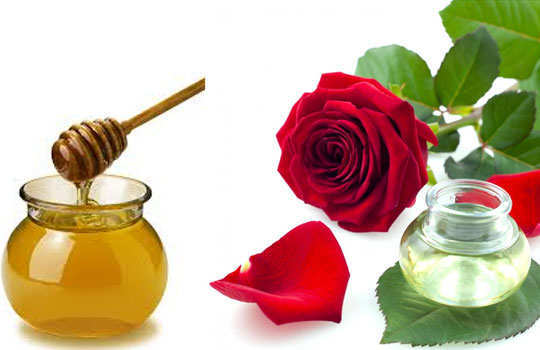 skin-blemishes-home-remedies-rose-water-honey
