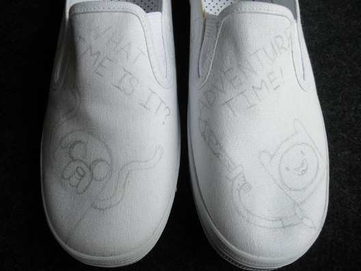 Canvas-shoes-made-new-look-step-2
