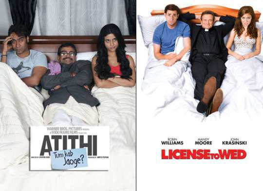 atithi-tum-kab-jaoge-and-license-to-wed-poster