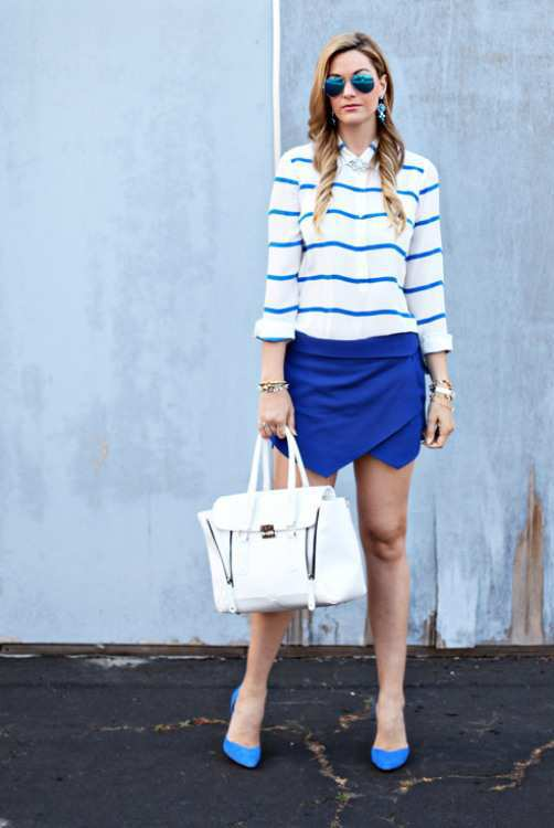 blue-Skirt-Shorts