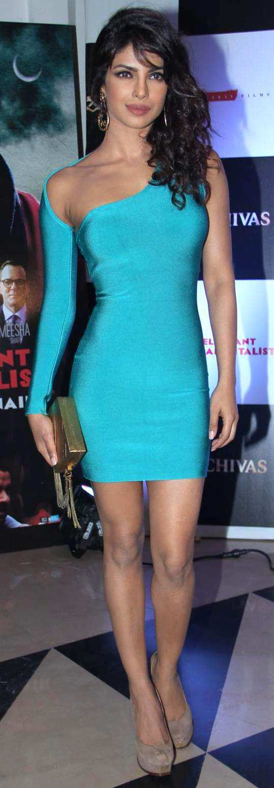 priyanaka-in-bodycon-dress