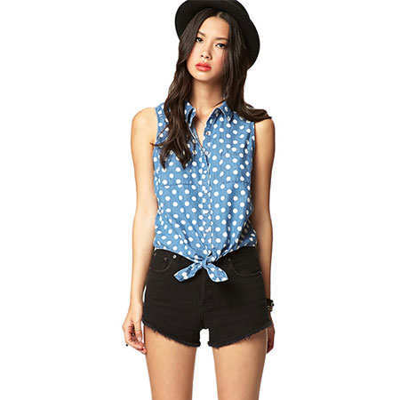 trend-report-on-fashion-tie-front-tops-forever-21