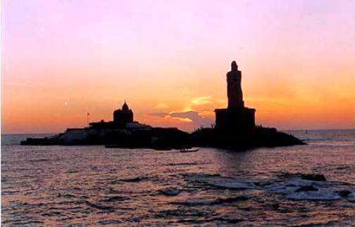 Kanyakumari-Sunset