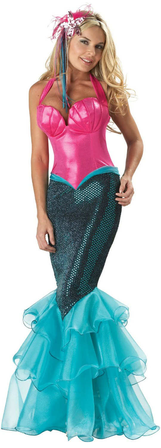 halloween-outfits-llc-mermaid-fitted-gown
