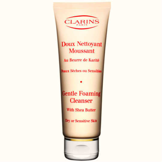 Clarins-Gentle-Foaming-Cleanser-with-Shea-Butter