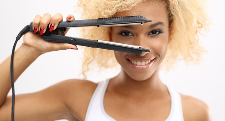 How to Straighten Curly Bangs