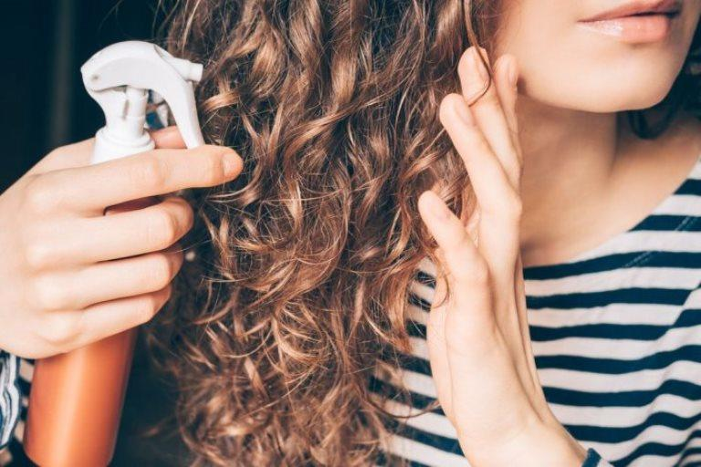 how to maintain curly brown hair