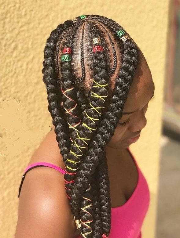 7 Trendy Jumbo Lemonade Braided Hairstyles To Try
