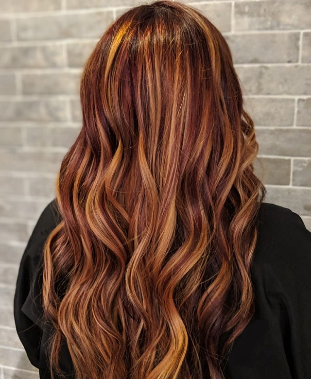 Red Hair With Blonde Highlights Top 10