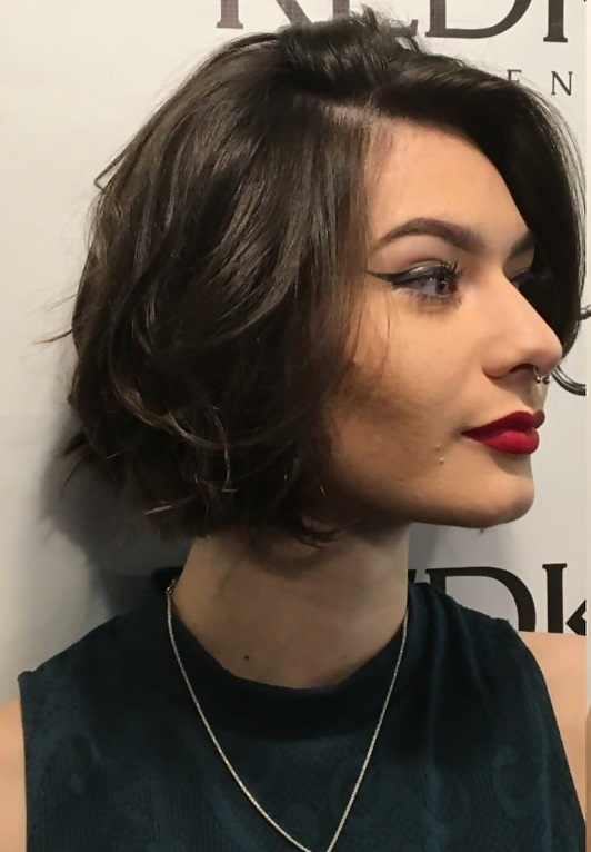 tousled bob hairstyles for women