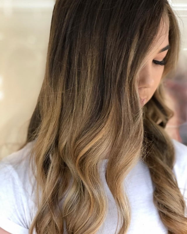 how to do balayage on long hair