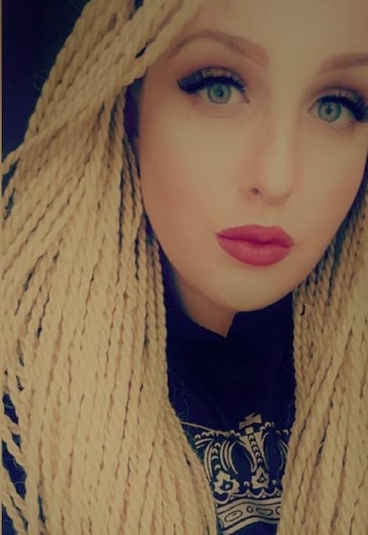 Blue women eyes hair blonde What Men