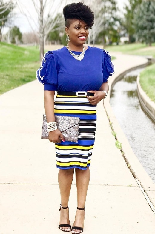 short afro hair for women over 40 and overweight