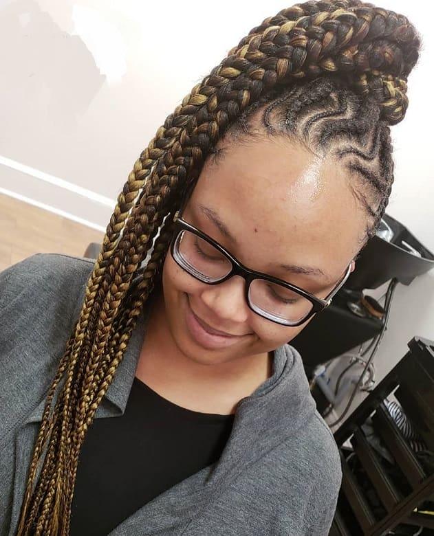 long senegalese twist hairstyles for black women